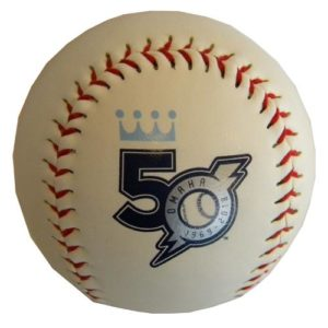 50th Season Baseball