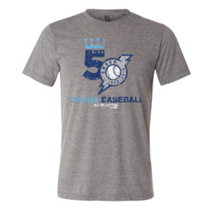 50th Season Logo T-Shirt Grey